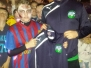 U13 Presentation of Drill tops; Halloween Party 2014